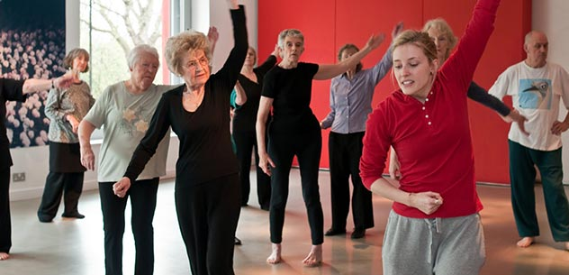 Dancing at old age